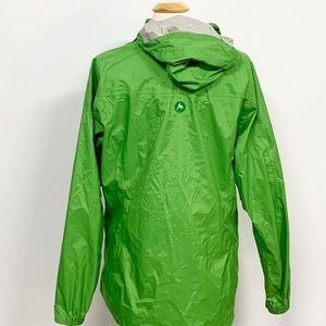Marmot Jackets & Coats - Marmot   Bright Green Full-Zip Windbreaker Jacket